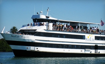 Up To Half Off Dinner Cruise For Two Starlite Cruises
