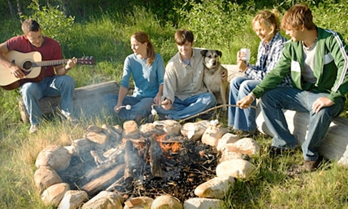 Crazy Horse Campground - Brodhead: $55 for Two Nights of Camping for Up to Four at Crazy Horse Campground Along the Sugar River (Up to $110 Value)