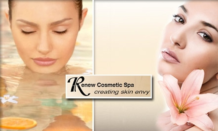 Renew Cosmetic Spa - Clayton: $25 for a Customized Hour-Long Facial at Renew Cosmetic Spa ($60 Value)