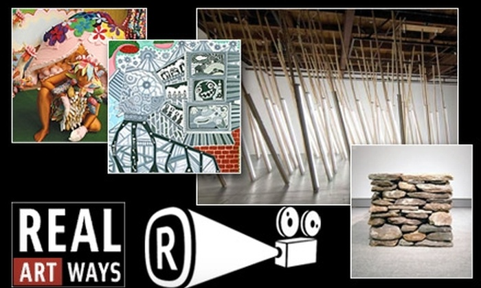 Real Art Ways - Parkville: $5 for Two Cinema and Art Gallery Tickets at Real Art Ways
