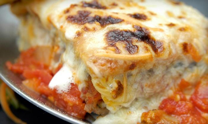 Filomena's Italian Kitchen - Glendale: $12 for Dinner for Two at Filomena's Italian Kitchen in Glendale (Up to $24.90 Value)