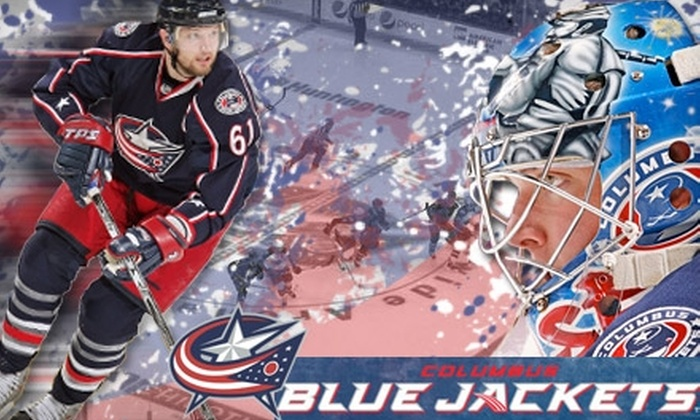 Up to 55% Off Blue Jackets Tickets - Columbus Blue Jackets | Groupon