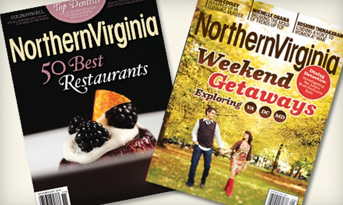 """Northern Virginia Magazine"": One- or Two-Year Subscription to ""Northern Virginia Magazine"""