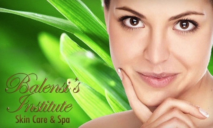 Balensi's Institute Skin Care & Spa - Downtown Chula Vista: $49 for $125 Worth of Spa Services at Balensi's Institute Skin Care & Spa in Chula Vista