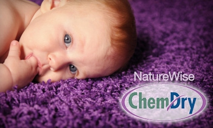 NatureWise Chem-Dry - West Seventh: $49 for Carpet Cleaning of Two Areas by NatureWise Chem-Dry ($100 Value)