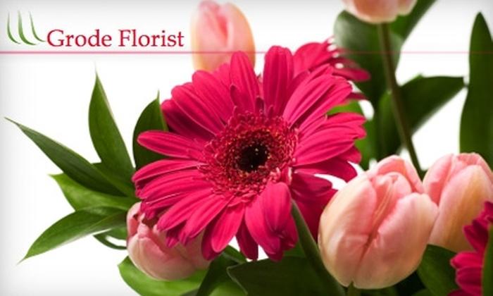 Grode Florist - Millcreek: $15 for $30 Worth of Floral Arrangements and Delivery from Grode Florist