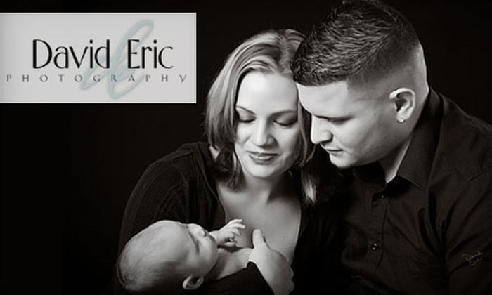 "David Eric Photography - Maywood: $59 for One-Hour Session, One 11""x14"" Print, a Digital Slideshow, and 20% Off Individual Prints at David Eric Photography ($399 Value)"