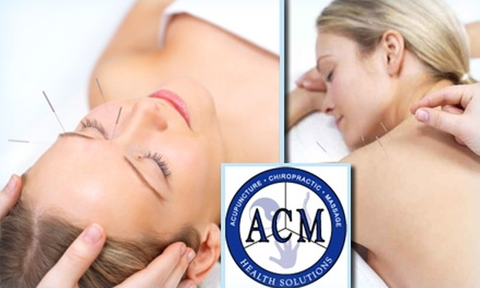 ACM Health Solutions - Plano: $30 Comprehensive Acupuncture Session at ACM Health Solutions ($65 Value)