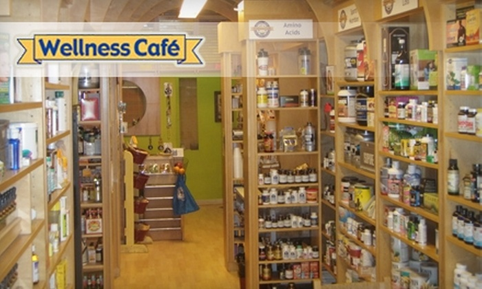 Wellness Café - Capitol Hill: $15 for $30 Worth of Organic Fare and Products at Wellness Café