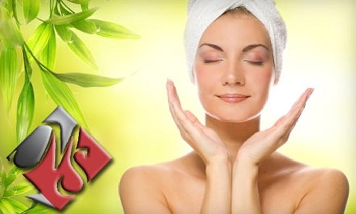 Mystique Salon & Spa - Bixby: $65 for a Mani/Pedi and a One-Hour Facial at Mystique Salon & Spa in Bixby ($130 Value)