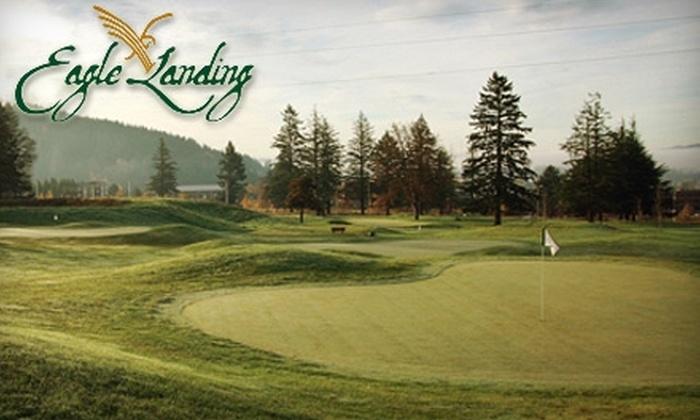 Eagle Landing Golf Course - Portland: Up to 55% Off at Eagle Landing Golf Course. Choose Between Mini-Golf or Nine Holes