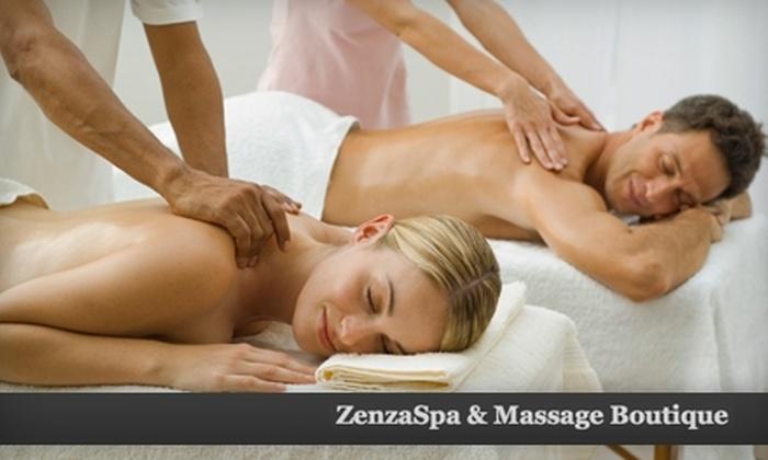 ZenzaSpa & Massage Boutique - Englewood: Couple's Massage and More at ZenzaSpa & Massage Boutique. Choose Between Two Treatments.