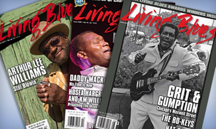 """Living Blues"" - Rocky Point Road Corridor Homeowners Association: $12 for a One-Year Subscription to ""Living Blues"" Magazine ($25.95 Value)"