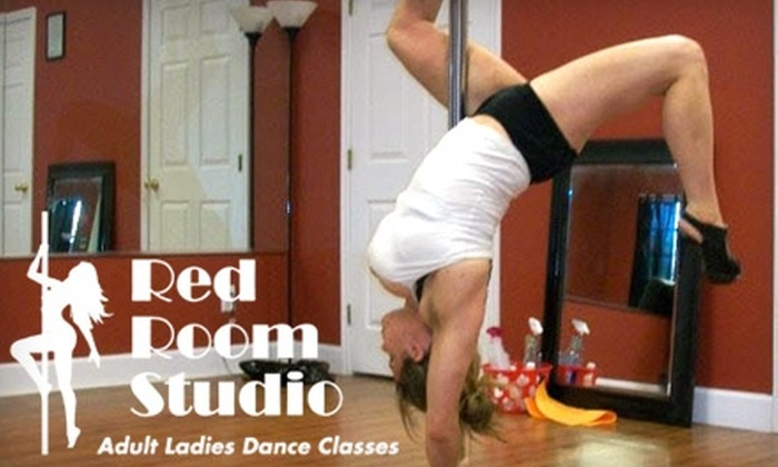 Red Room Studios - Seabrook: $20 for Two Pole-Dancing, Belly-Dancing, Burlesque, or Stretch Classes at Red Room Studio in Seabrook ($40 Value)