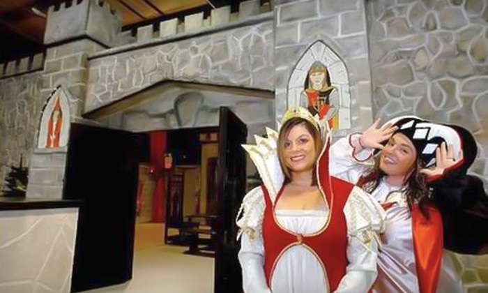 The Fun House – Medieval Kingdom - Swansea: Medieval Adventure for Two or Four Kids at The Fun House – Medieval Kingdom in Swansea
