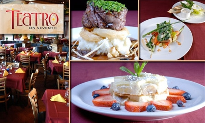 Teatro on Seventh - Historic Ybor: $25 for $60 Worth of International Cuisine and Drinks at Teatro on Seventh