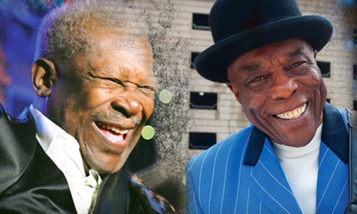 B.B. King and Buddy Guy - Downtown: One Ticket to See B.B. King and Buddy Guy at Nob Hill Masonic Auditorium on September 26 at 8 p.m. Two Options Available.