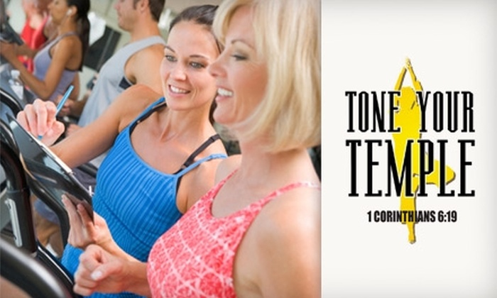 Tone Your Temple Fitness Studio - Charlotte: $39 for a Five-Class Pass to Tone Your Temple Fitness Studio ($80 Value)