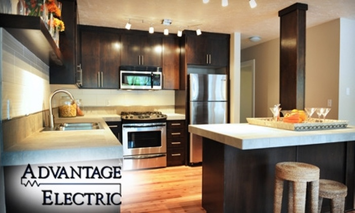 Advantage Electric - Portland: $99 for One Dimmer or Light Fixture Installation from Advantage Electric ($199 Value)