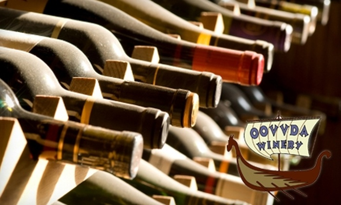 OOVVDA Winery - Franklin No. 2: $15 for $30 Worth of Wine and Gifts at Oovvda Winery
