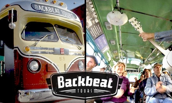 Backbeat Tours - Downtown Medical Center: $15 for the Memphis Mojo Bus Tour from Backbeat Tours