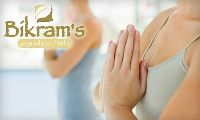 Bikram's Yoga College of India North Vancouver  - North Vancouver: $35 for a One-Month of Unlimited Yoga at Bikram's Yoga College of India – North Vancouver ($179.20 Value)