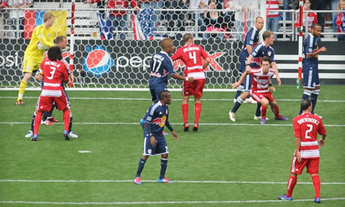 FC Dallas Stadium in Frisco - Frisco: $19 for a FC Dallas Soccer Package for One at FC Dallas Stadium in Frisco (Up to $60.69 Value). Three Matches Available.