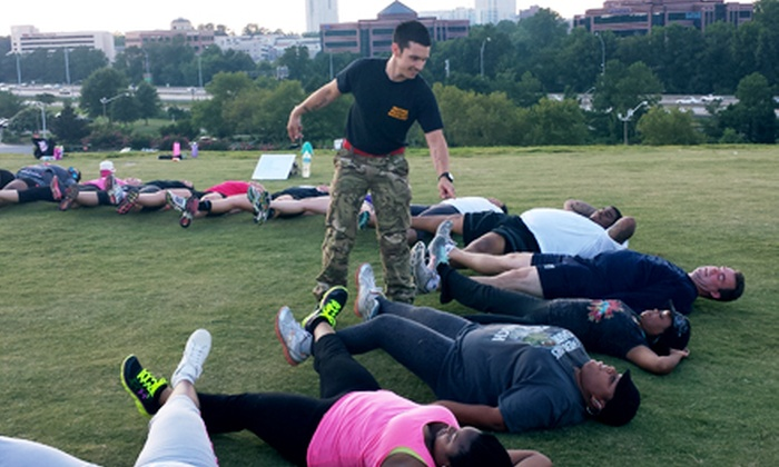 British Military Boot Camp - Multiple Locations: One or Two Months of Unlimited Classes at British Military Boot Camp (Up to 61% Off)