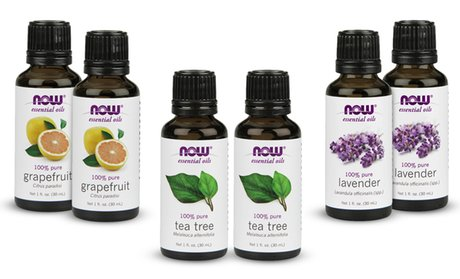 2-Pack of Now Foods Essential Oils