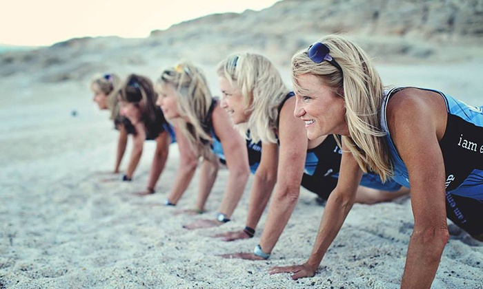 Mama Bootcamp - Multiple Locations: $49 for Six-Week Women's Boot Camp with Nutrition Plan and Personal Coach at Mama Bootcamp ($199 Value)