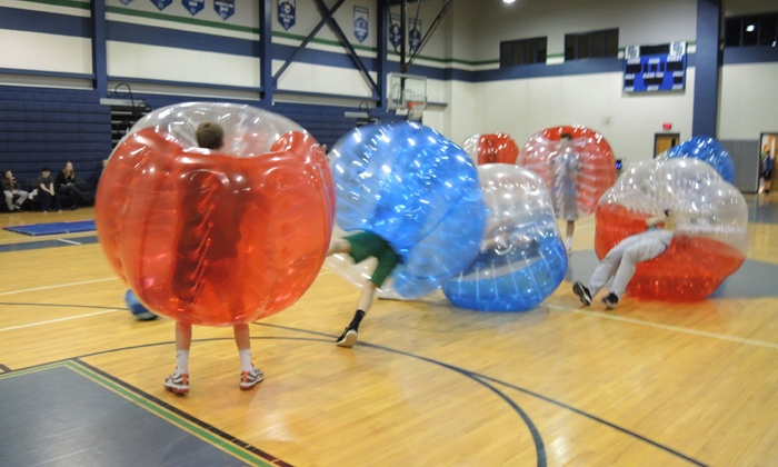 Bump n Play - Wilmington-Newark: 30-Minute Bubble Soccer Game for 4, 8, or 10 from Bump n Play (Up to 64% Off)