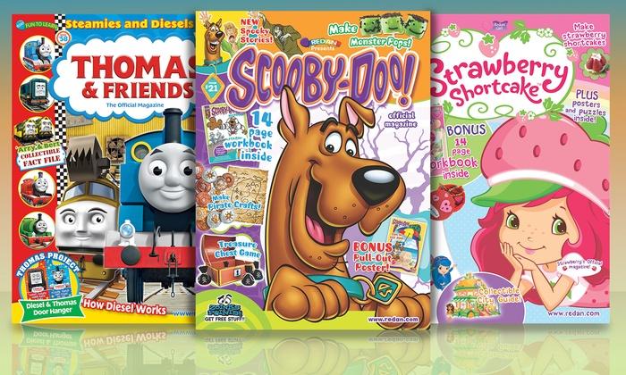 Thomas Friends Strawberry Shortcake Or Scooby Doo Magazine