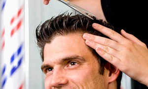 Ricki Mckinney At Upscale Barber Shop Llc: $55 for $100 Groupon — Upscale Barbershop & Beaut Salon