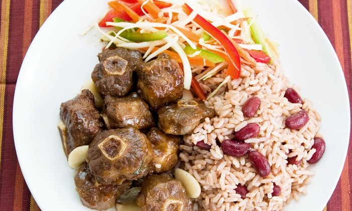 Taste It Again - Bloomfield: Jamaican Cuisine for Two or Four at Taste It Again (Up to 57% Off)