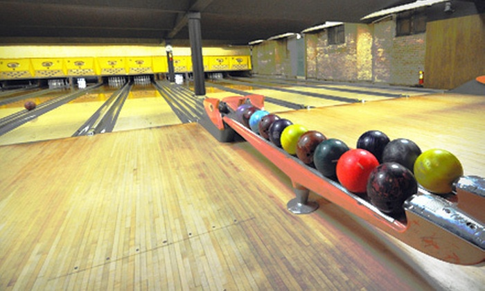 Mahall's 20 Lanes - Lakewood: $15 for Two Games of Bowling with Shoe Rentals for Four at Mahall's 20 Lanes in Lakewood (Up to $32 Value)