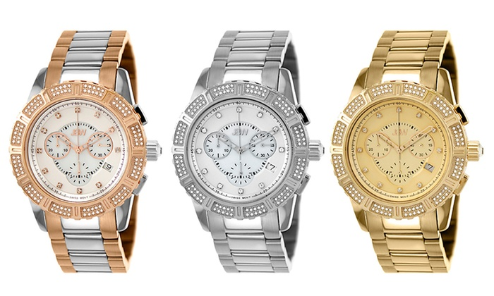 JBW Mixed Diamond Watches: JBW Women's Diamond-Accent Watches. Multiple Styles Available. Free Shipping.