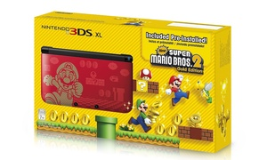 Nintendo 3DS XL Super Mario Bros. 2 Gold Edition