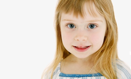 One or Three Kids' Haircuts, or Kids' Spa Package at Over the Moon Kids Salon (Up to 60% Off)
