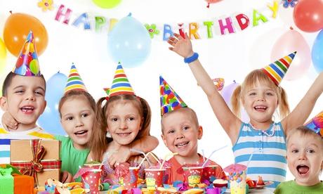 Fiesta de cumpleaños infantil para 14 o 20 niños con merienda y pintacaras desde 49,90 €