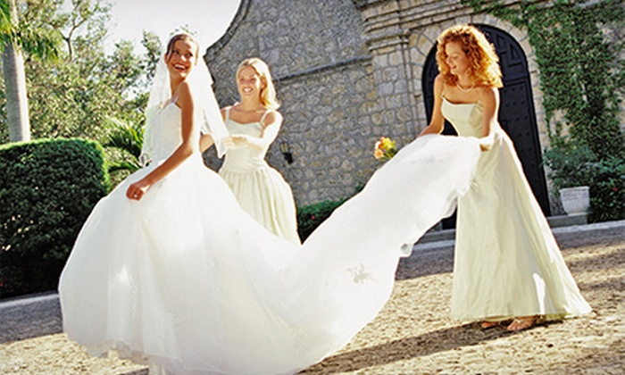 Debra Dee Weddings - Multiple Locations: Wedding Apparel and Accessories at Debra Dee Weddings (Half Off). Three Options Available.