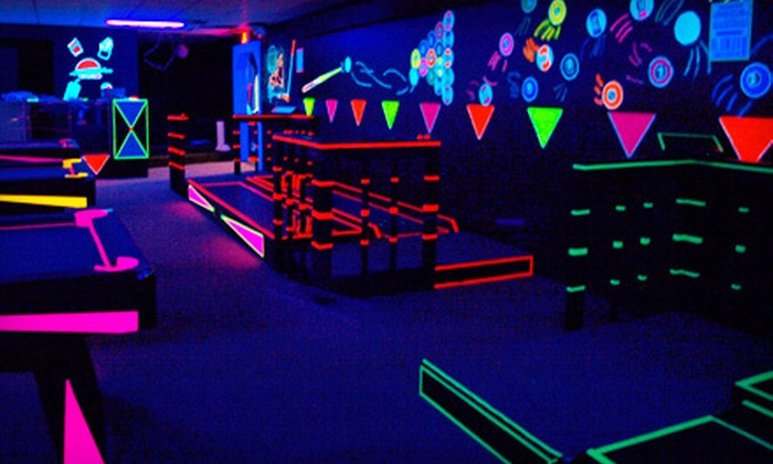 Glow–A–Rama - Buchanan: $10 for Hour of Ping-Pong, Darts, and Billiards for Up to Four at Glow-A-Rama in Buchanan ($20 Value)