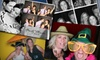 FlickerBooth - Charlotte: Four-Hour Photo-Booth Rental with Delivery or Four-Hour Photo-Booth Rental with Projector, Screen, and Delivery from FlickerBooth (Up to 52% Off)