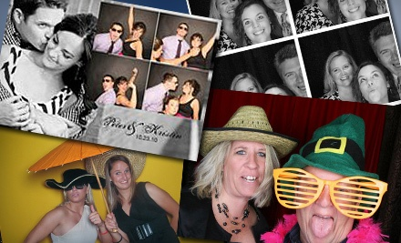 Good for a 4-Hour Photo-Booth Rental (a $795 value) - FlickerBooth in