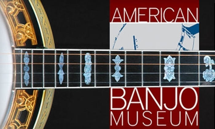 American Banjo Museum - Downtown Oklahoma City: $35 for One-Year Family Membership to the American Banjo Museum