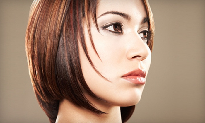 Didi's Hair Salon - Three Lakes: Hairstyle Packages with Cut, Deep Conditioning, and Blow-Dry or Partial Highlights at Didi's Hair Salon (Up to 76% Off)