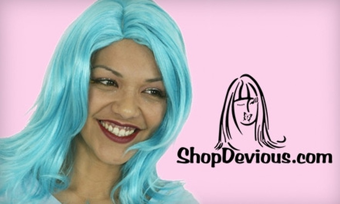 ShopDevious.com - Central City: $15 for $30 Worth of Wigs and More at ShopDevious.com