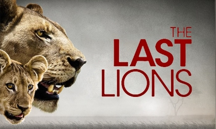 "National Geographic - West Los Angeles: $5 for Admission to National Geographic's ""The Last Lions"" at Laemmle's Royal Theatre"