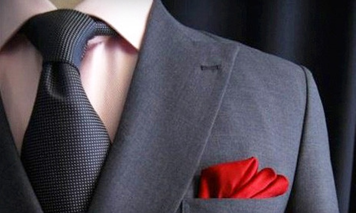 Imparali Custom Tailors - Westchase: Custom Suit Package with a Shirt and Tie or $75 for $150 Toward Custom Menswear from Imparali Custom Tailors