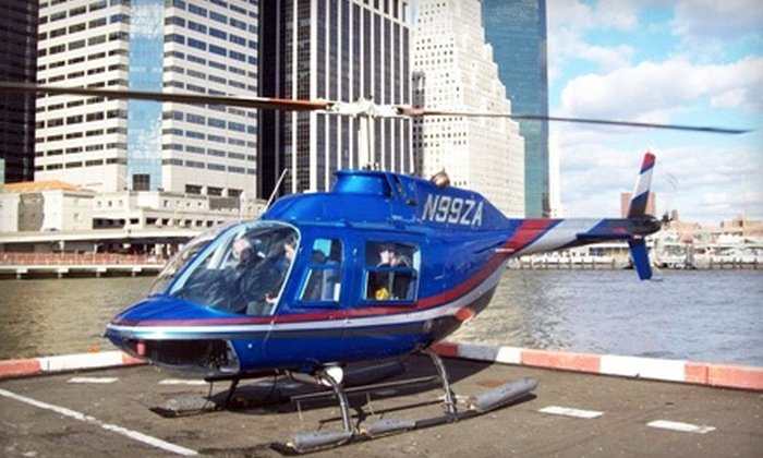 Zip Aviation - Multiple Locations: Helicopter Flights Between Westchester and New York City from Zip Aviation (Up to 77% Off). Two Options Available.