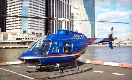 Choice of a Round-Trip Helicopter Flight for One or a 1-Way Trip for Two from Westchester to Manhattan (a $720 value) - Zip Aviation in New York